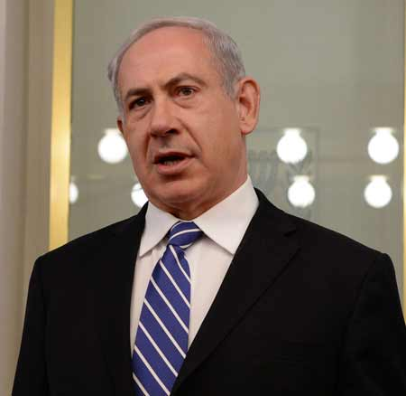 PM Benjamin Netanyahu (Photo by Kobi Gideon/GPO/FLASH90)
