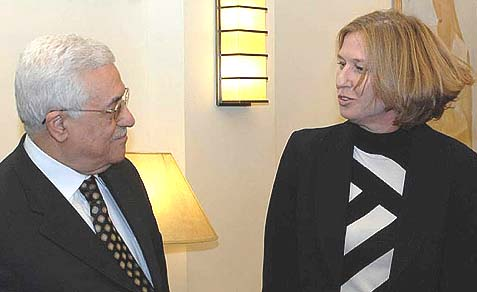 Mahmoud Abbas and Tzipi Livni are laboring together on a plan to release Palestinian prisoners with Jewish blood on their hands.