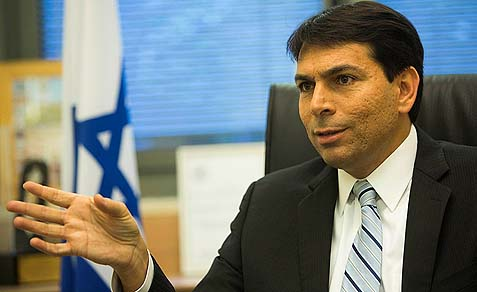 Deputy Defense Minister Danny Danon says the majority in the current government are against a Palestinian State.