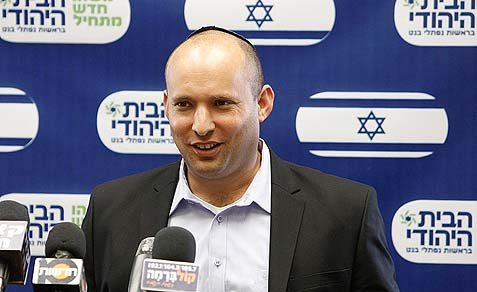 Minister Naftali Bennett wants to impose Israeli rule on the C area.