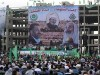 Hamas officials in Gaza City last month welcomed Egyptian cleric Sheikh Yusuf al-Qaradawi, who leads the anti-Hezbollah wave in the Muslim world.