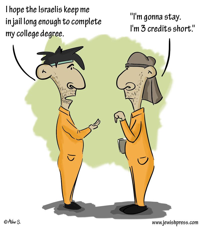Arab college jail