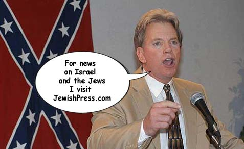 Ex-KKK Wizard David Duke, White Power scum, and your garden variety neo-Nazis frequent JewishPress.com for their news on Israel and the Jews.