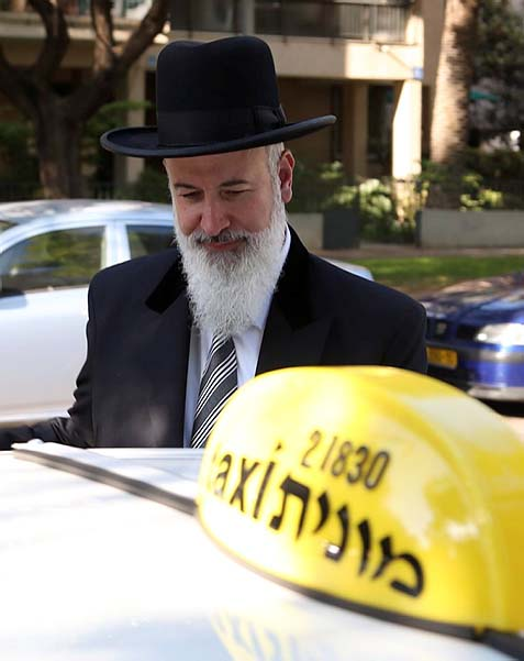 Chief Rabbi Takes a Cab