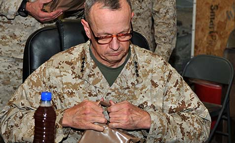 International Security Assistance Force Commander Gen. John R. Allen.