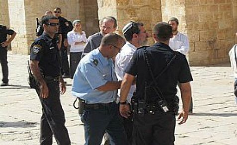 Jews arrested for violating the rule against prayer on Temple Mount