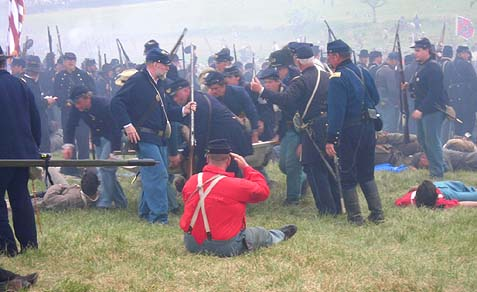 civil war reenactment 1