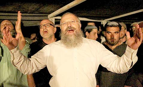 Rabbi Shuel Eliyahu is being questioned by the AG over his views.