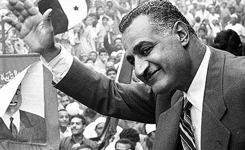 Gamal Abdel Nasser ruled Egypt with a strong arm from 1952 to 1970.