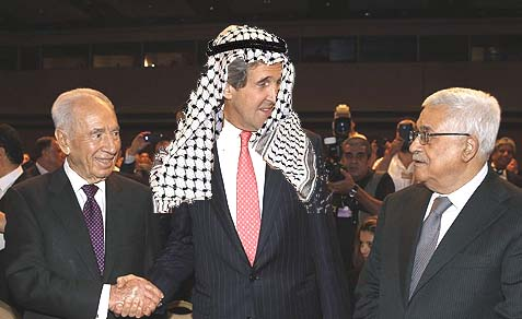 "Kerry, who a few weeks ago referred to the Palestinian Authority as a ""country,"" prejudices Israel's position and stays mum while the PA breaks his ground rules for ""secret talks."""