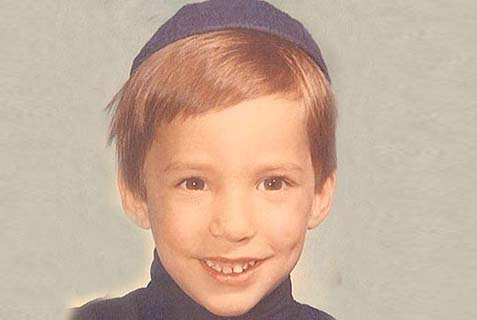 Minister Naftali Bennett was quite the cutie at age six, and he didn't have much money -- but he had hair!