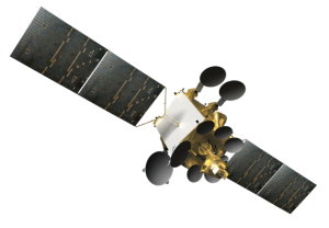 AMOS-4 Deployed in Space