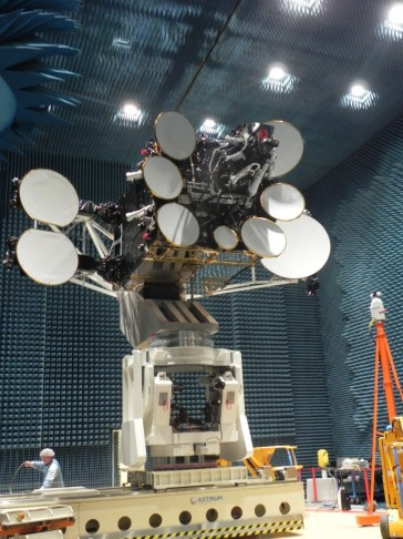 AMOS-4 in Communication System Tests