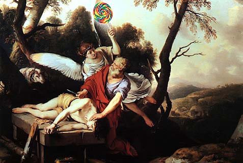 Abraham and IsaacLaurent de La Hire, 1650
