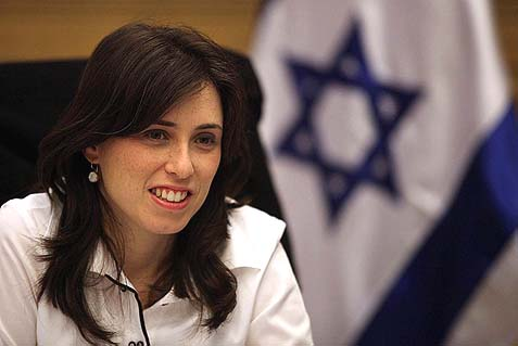 Transportation Deputy Minister MK Tzipi Hotovely (Likud-Beiteinu) says the current political negotiation is different from previous ones in its quest for a Palestinian state within temporary borders, but it will result in a Palestinian state with a UN representation, which will harm Israel.