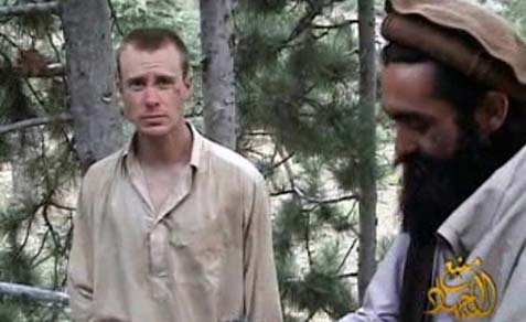SGT Bowe Bergdahl with Taliban captor.