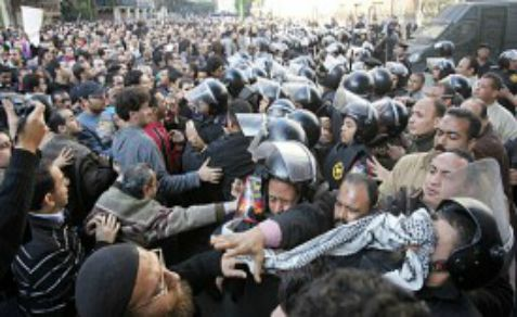 Clashes in Egypt, under Mubarak, under Morsi and under the military regime.