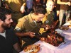 American lone soldiers are invited by the IDF to celebrate Thanksgiving every year at the Center for American Jewry in Jerusalem.