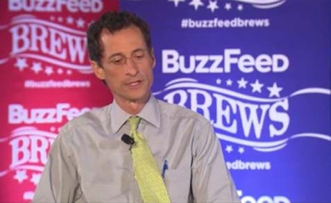 "Weiner on BuzzFeed: ""I'm gonna fight, I'm gonna stand up strong. I've shown that I don't back down very easily."""