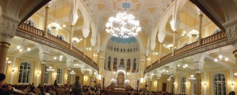 Chabad-affiliated St. Petersburg Choral Synagogue,