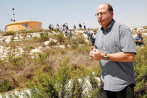 In 2009, then Deputy Prime Minister Moshe Ya'alon visits the evacuated settlement of Chomesh in Samaria, and urged Israel to consider resettling the residents, calling it a strategic asset in the face of Palestinian terrorism. Now his Defense ministry is inviting the Arabs to occupy those lands.