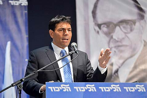 "Deputy Defense Minister Danny Danon has decided to start early the campaign to prevent givebacks to the Palestinians. While saying he ""trusts"" Netanyahu – he appears to harbor very different feelings than trust about the PM."