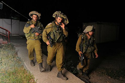 IDF soldiers killed a terror suspect near Ramallah after he refused to surrender.