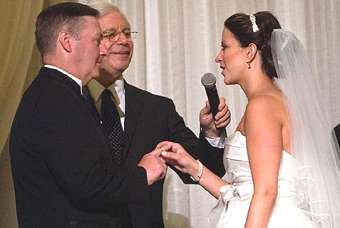 "Reform Rabbi Michael Sternfield officiating at the wedding of Karyn and Brian, in July of 2011, and, as a congregation member put it in her blogpost: ""blending Catholicism and Judaism."" Sternfield blended a gambling addiction with a devotion to promoting intermarriage."