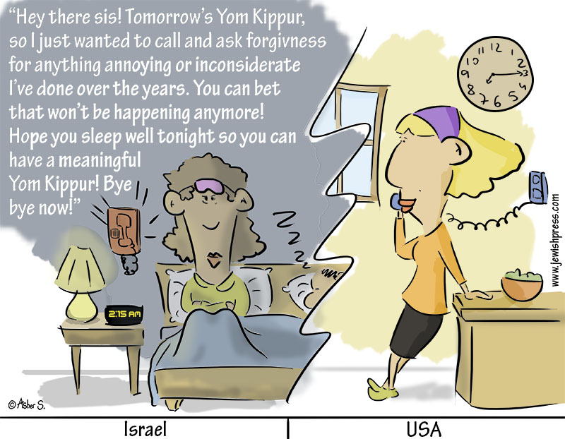 The Yom Kippur Call