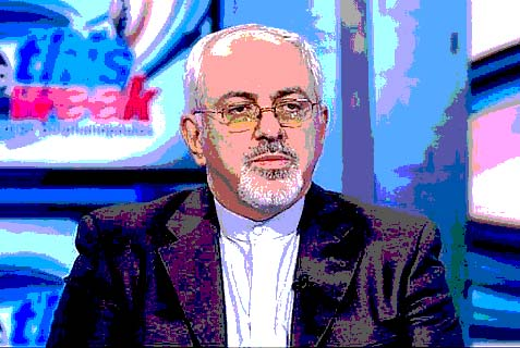 "Iranian Foreign Minister Javad Zarif on ABC's ""This Week."""