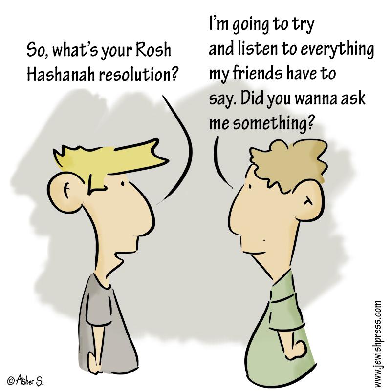resolution to listen