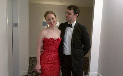 Intermarried couple: Chelsea Clinton and Marc Mezvinsky