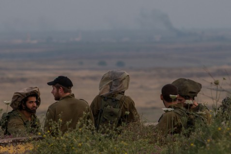 IDF Soldiers on the Golan