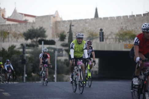 JERUSALEM BICYCLE RACE