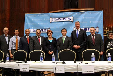 The Jewish Press owners and a panel of Democratic candidates.