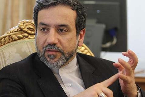 Iranian Deputy Foreign Minister Seyed Abbas Araqchi hinting at a future peace.