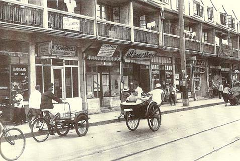 "The Jewish ""Little Vienna"" neighborhood in Shanghai in the 1930s."