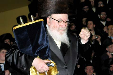 The Skverer Rebbe, Rabbi David Twersky