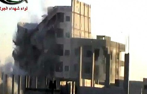 A large number of Hezbollah fighters died in this direct hit on their building near Damascus.