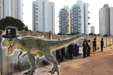 T Rex and rabbis