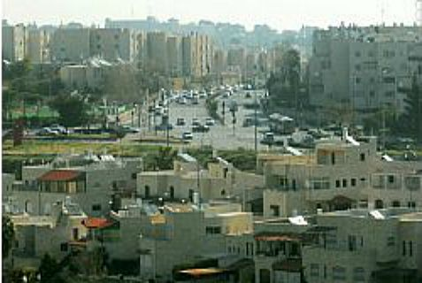 "Gilo, in southern Jerusalem, and you call this a ""settlement?"""