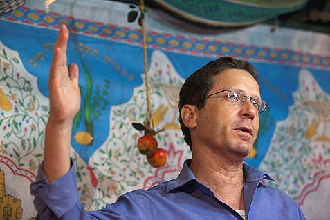"Labor Party elected MK Yitzhak ""Buji"" Herzog as its new chairman."