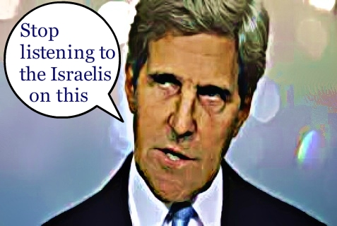 At Iran briefing for significant U.S. senators, Kerry reportedly said to Ignore what the Israelis say