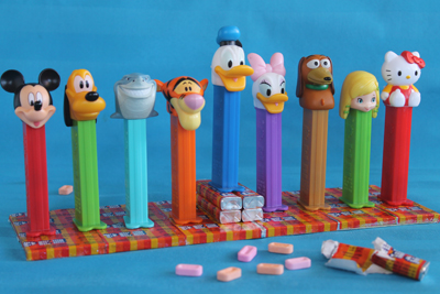 The Pez Menorah