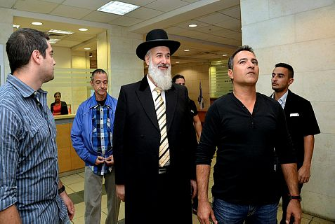 Police arrested former Chief Ashkenazi Rabbi Yona Metzger Monday on suspicion of money laundering, bribery and obstruction of justice.