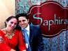 Saphira Tessler-Greenberg and Aviad Greenberg, owners of Saphira Hair Products from Israel