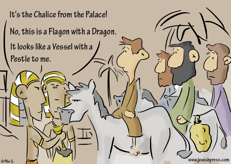 chalice in the palace parshat Miketz