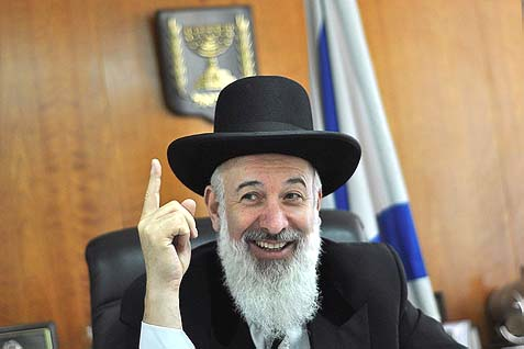 To Kill a Chief Rabbi