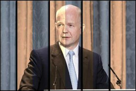 British Foreign Secretary William Hague renews diplomatic ties with Iran.