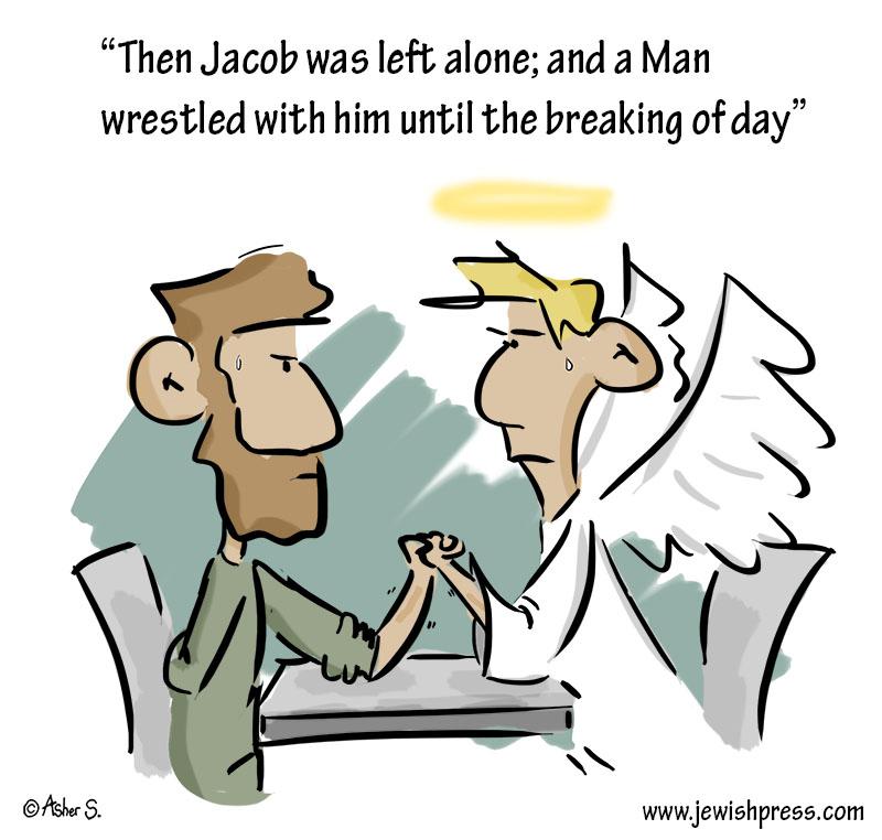 jacob and the angel